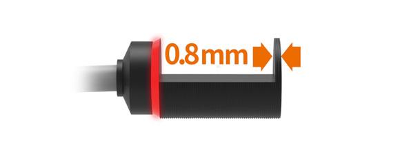 Thick 0.8 mm Metal Sensor Heads
