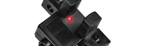 红色LED指示灯,轻松确认工作状态