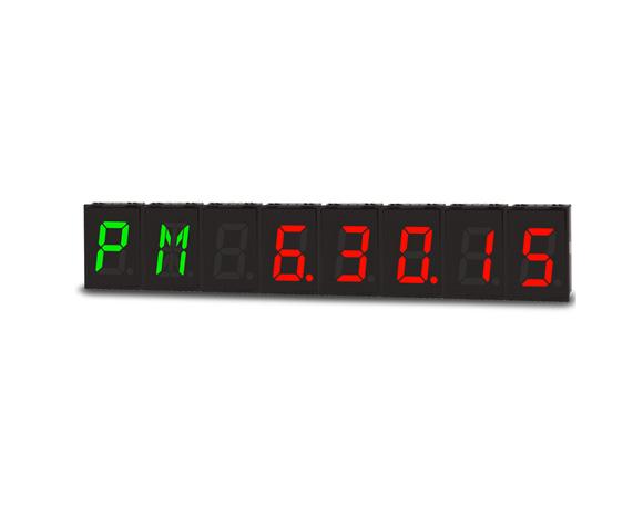 RS485通讯时间同步显示