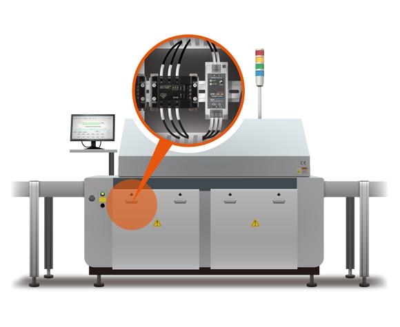 用于SMT机械温度控制的固态继电器