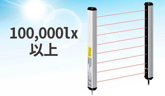 100,000 lx 以上