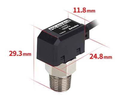 紧凑型传感器  11.8 mm,29.3mm,24.8 mm